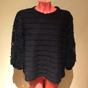 Anthropologie - eri + Ali blouse top